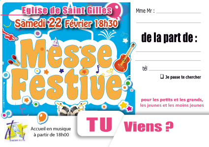 08, messe-festive, affiche messe festive, invitation messe festive,messe jeunes