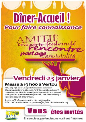 invitation repas partage