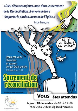 12, affiche réconciliation, sacrement de la réconciliation, pardon, affiche paroisse
