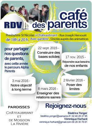affiche café des parents