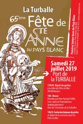 Fête-de-Sainte-Anne AFFICHE